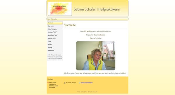 Sabine Schäfer – Heilpraktikerin